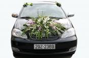 Hoa xe cưới 04