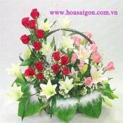 Hoa để bàn 14